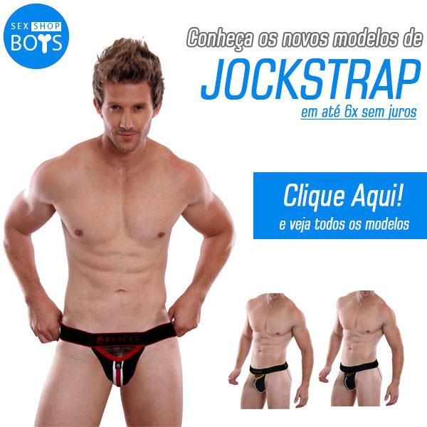 Jockstrap com envio imediato é no sex shop boys!